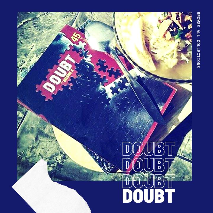 [Review Buku] DOUBT, Antologi Cerita Mini Bernuansa Muram dari NegeriJiran